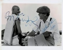 Gandhi Autograph Photo Signed - Kingsley & Sheen